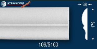 Érd 109 kérgesített homlokzat dekoráció, homlokzati elem