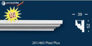 Stukkó díszléc indirekt világítással Nyíregyháza 201 Plexi Plus