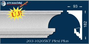 Rejtett világítás díszléc karnistámasz Veszprém 203 PLEXI PLUS