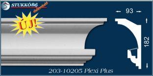 Rejtett világítás díszléc Veszprém 203 PLEXI PLUS