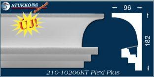 Rejtett világítás díszléc karnistámasz Kaposvár 210 PLEXI PLUS