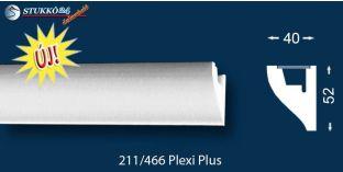 Stukkó díszléc indirekt világítással Miskolc 211 Plexi Plus