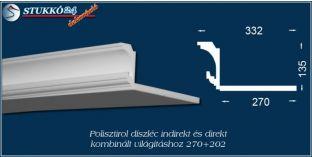 Spot lámpa és LED világítás polisztirol profil Budapest 270+202