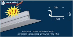 Spot lámpa rejtett világítás polisztirol díszléc Debrecen 270+205 PLEXI PLUS