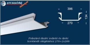 Spot lámpa, LED szalag világítástechnika polisztirol stukkó Győr 270+2x209