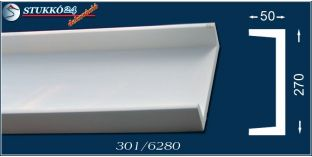 Polisztirol stukkó spot lámpa világításhoz Miskolc 301