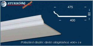 Spot lámpa világítás polisztirol díszléc Dombóvár 400+14