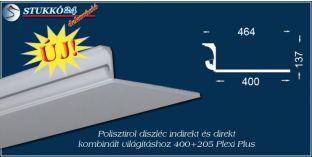 Debrecen spot lámpa rejtett világítás stukkó 400+205 PLEXI PLUS