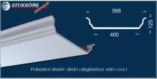 Mennyezeti led spot lámpa polisztirol stukkók Abony 400+2x21