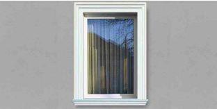 12. Kültéri stukkó dekorációs ötletek:  ablak dekorálás, ajtó dekorálás