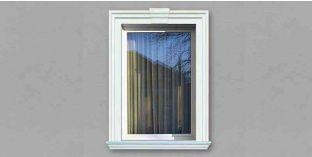 13. Kültéri stukkó dekorációs ötletek: ajtódekorálás, ablakdíszítés