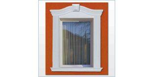 91. Kültéri stukkó dekorációs ötletek: Ablakkeretezés, ajtókeretezés ívre hajlítható díszlécekkel