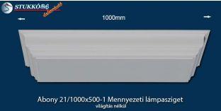 Mennyezeti lámpasziget, design lámpa Abony 21/1000x500-1, világítás nélkül