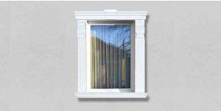 52. Kültéri stukkó dekorációs ötletek: ajtódíszek, ablakdíszek