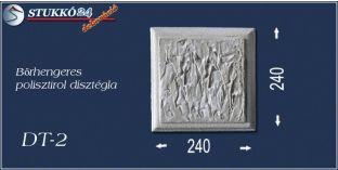Bőrhengeres polisztirol dísztégla, kváderkő dt-2