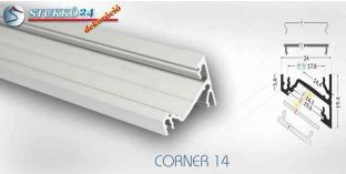 CORNER14 alumínium profil