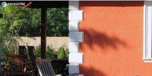 114. Kültéri stukkó dekorációs ötletek: kváderkövek homlokzat díszítéséhez
