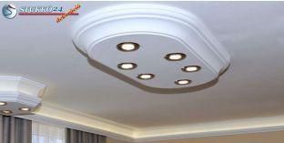 Dombóvár 14/1000x500-3 polisztirol mennyezeti LED lámpa