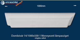 Mennyezeti lámpasziget Dombóvár 14/1000x500-1 világítás nélkül