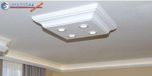 Dombóvár 14/500x500-1 polisztirol mennyezeti LED lámpa