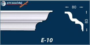 Stukkó díszléc, E-10