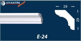 Stukkó díszléc, E-24