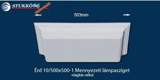 Érd 10/500x500-1 polisztirol lámpasziget