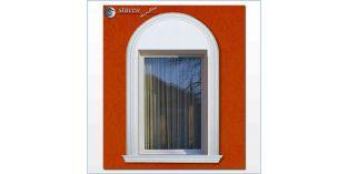 105. Kültéri stukkó dekorációs ötletek: hajlítható stukkó díszléc homlokzat díszítésehez