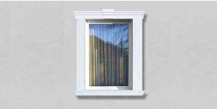 51. Kültéri stukkó dekorációs ötletek: homlokzati díszítés, mint ablak dekoráció, ajtó díszítés