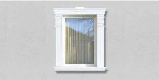 53. Kültéri stukkó dekorációs ötletek: homlokzati stukkó ablakdíszítéshez