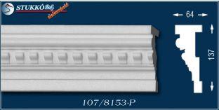 Kaposvár 107-P hungarocell dekoráció, homlokzati elem