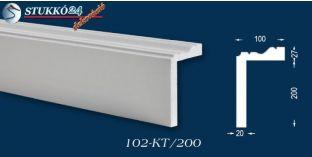 Polisztirol stukkó, ablak stukkó, Miskolc 102-KT-195-205