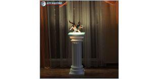 Polisztirol oszlop, oszlop dekoráció, beépített LED rejtett világítás ODK-2-260-678