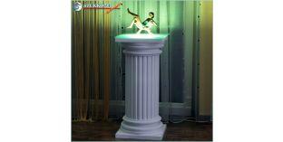 Polisztirol oszlop, oszlop dekoráció, beépített LED rejtett világítás ODK-2-360-768