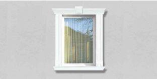 63. Kültéri stukkó dekorációs ötletek: Kültéri stukkó ablakkeretezéshez, ajtókeretezéshez