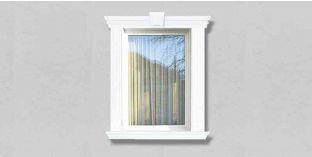 30. Kültéri stukkó dekorációs ötletek: kültéri stukkó ablakkerethez, ajtókerethez