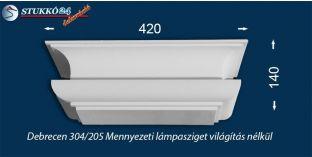 Design lámpa, mennyezeti lámpasziget Debrecen 304/205 világítás nélkül