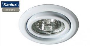 Billentehtő Fehér LED spot lámpa keret