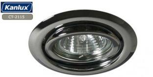 Billenthető Króm LED spot lámpa keret