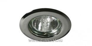 Króm LED spot lámpa keret