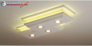Mennyezeti LED lámpa Budapest 303/202 ÚJ meleg fehér