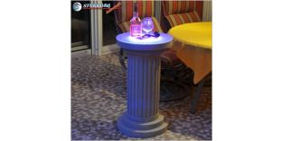 Kültéri polisztirol oszlopok LED világítás beépítésével, ODMK-435-758