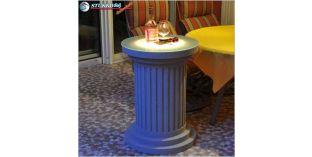 Polisztirol oszlopok, oszlop dekoráció LED világítás beépítésével, ODMK-560-758