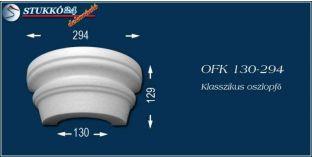 Polisztirol oszlopfő klasszikus mintázattal OFK 130/294