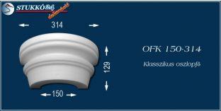 Polisztirol oszlopfő klasszikus mintázattal OFK 150/314