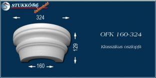 Polisztirol oszlopfő klasszikus mintázattal OFK 160/324