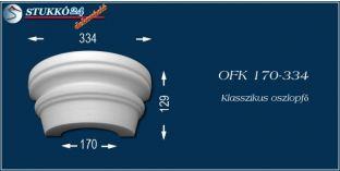 Polisztirol oszlopfő klasszikus mintázattal OFK 170/334