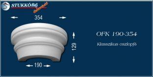Polisztirol oszlopfő klasszikus mintázattal OFK 190/354