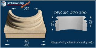 Kérgesített polisztirol oszloptalp klasszikus OFK-2K 270/390-p