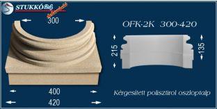 Kérgesített polisztirol oszloptalp klasszikus OFK-2K 300/420-p
